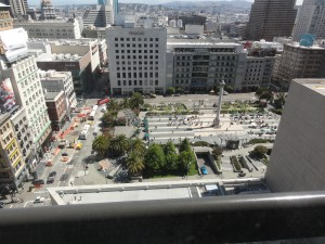 View to Union Square