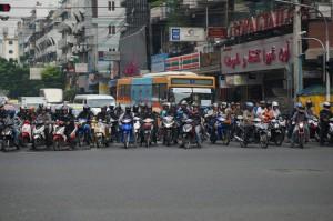 Bangkok motor bikes