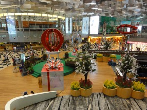 Singapore Changi Airport - Terminal 3 - Shopping area