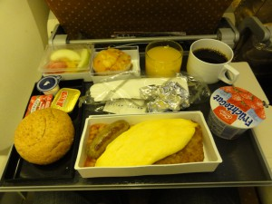 Breakfast on SQ285 - January 2012