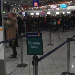 Singapore Airlines Economy Check-in - Frankfurt Airport