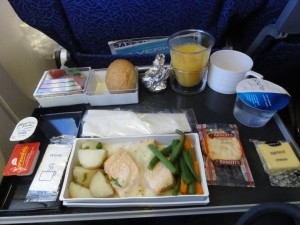 Lunch on SQ298 - January 2012