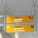 Star Alliance Gold Check-in LH at Munich Airport