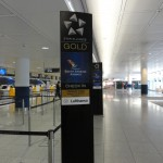Star Alliance Gold Check-in for South African Airlines at Munich Airport