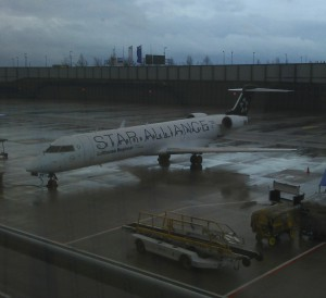Star Alliance Livery at Munich Airport